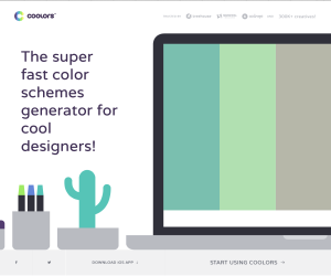 Designer Colour Scheme App for Graphic Design Students and Pros